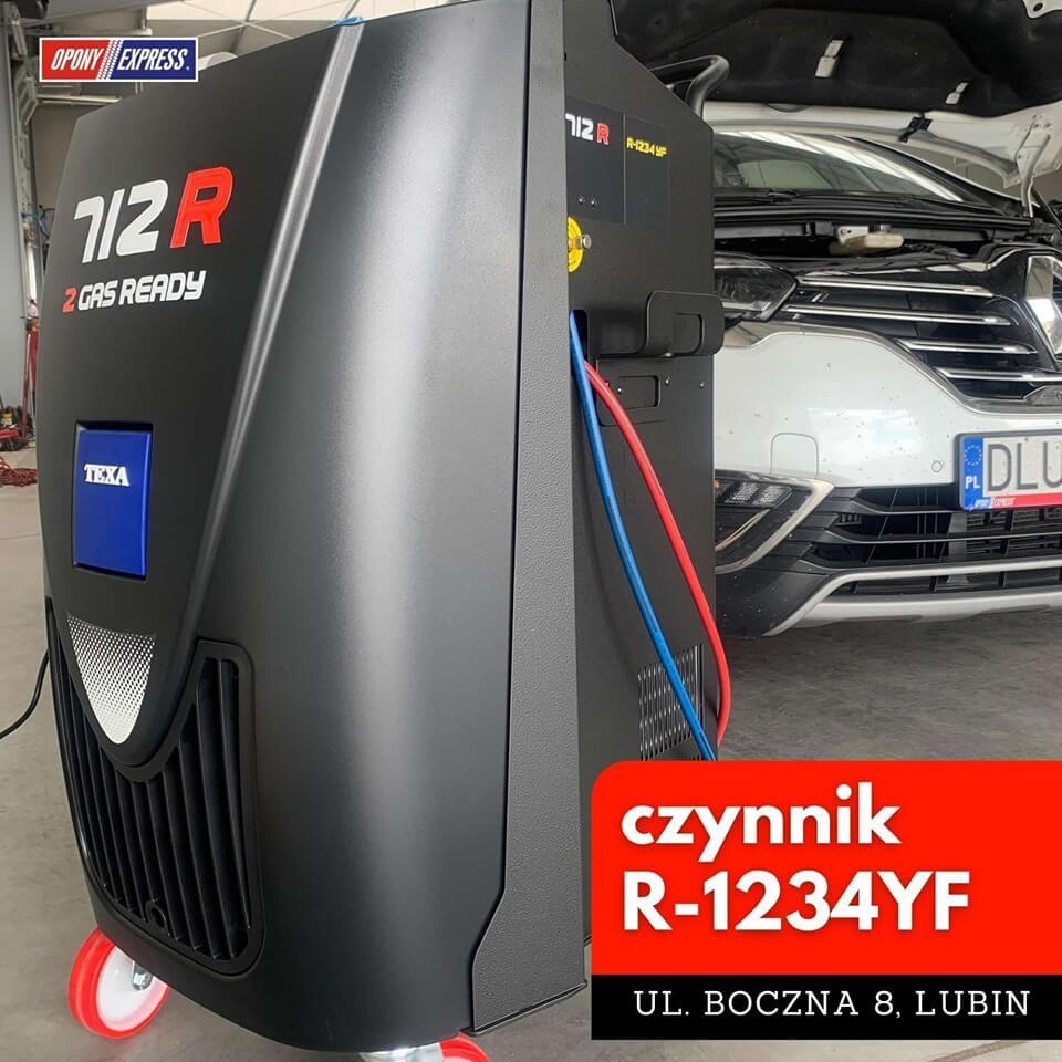 czynnik-R1234YF Lubin
